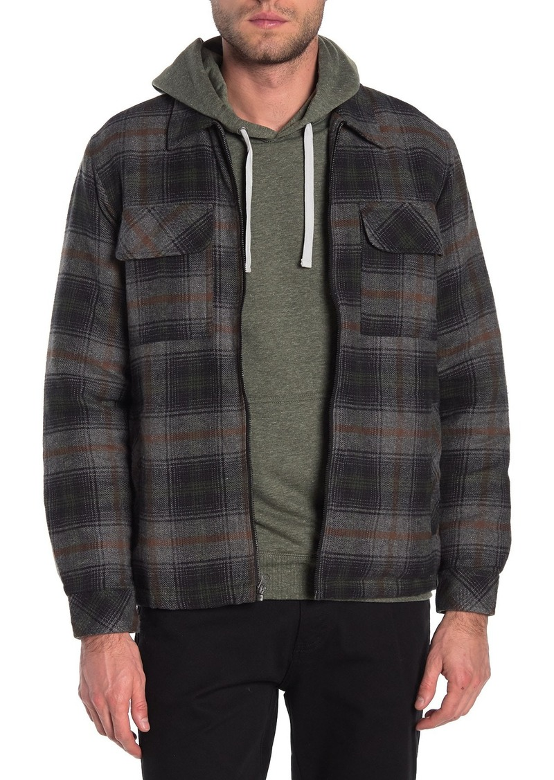 Billabong Barlow Corduroy Zip Up Jacket