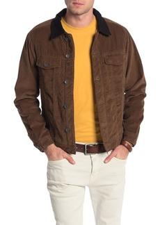 Billabong Barlow Faux Shearling Lined Denim Jacket