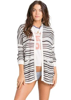 Billabong Women's Outside The Lines Stripe Cardigan