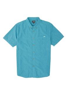 Billabong All Day Jacquard Button-Up Shirt (Toddler, Little Boy & Big Boy)