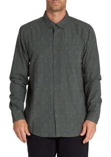 Billabong All Day Slim Fit Jacquard Button-Down Shirt