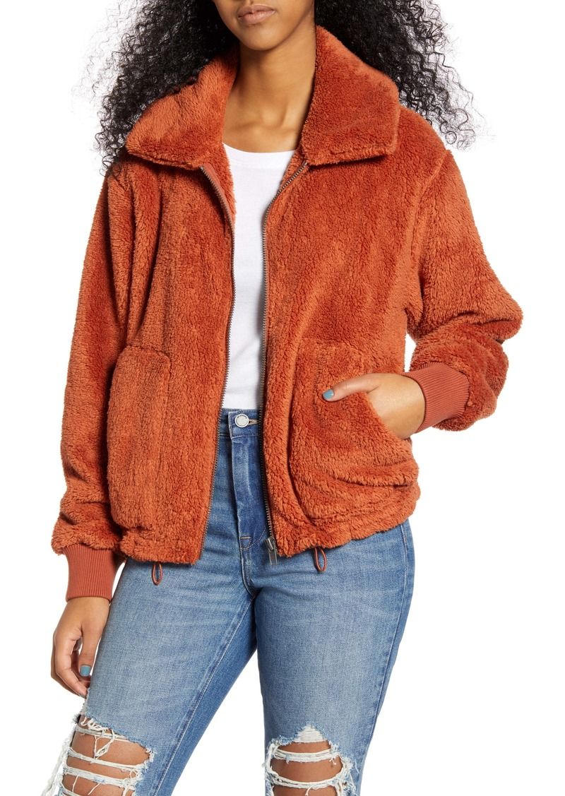Billabong Always Cozy Faux Fur Jacket