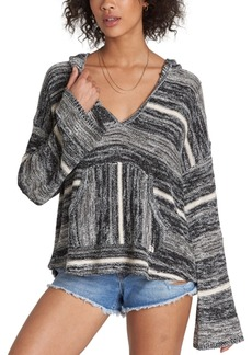Billabong Baja Beach Striped Hooded Sweater