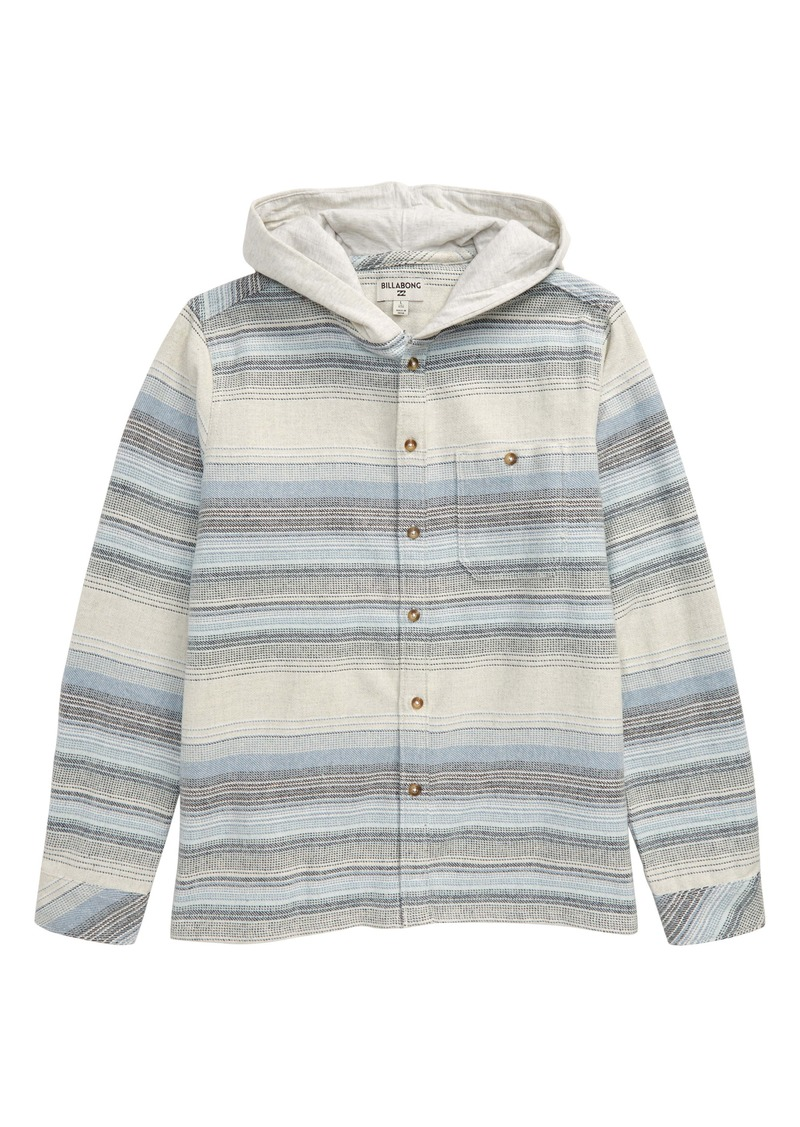 Billabong Baja Hooded Flannel Shirt (Big Boys)