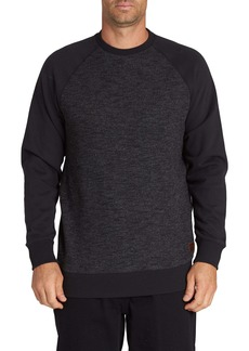 Billabong Balance Cotton Blend Crewneck Sweatshirt