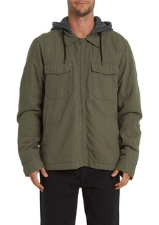 Billabong Barlow Hooded Twill Jacket