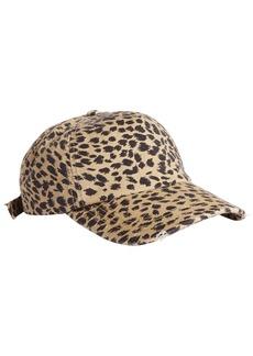 Billabong Beach Club Leopard Print Baseball Cap