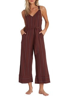 Billabong Bella Day Wide Leg Crop Jumpsuit