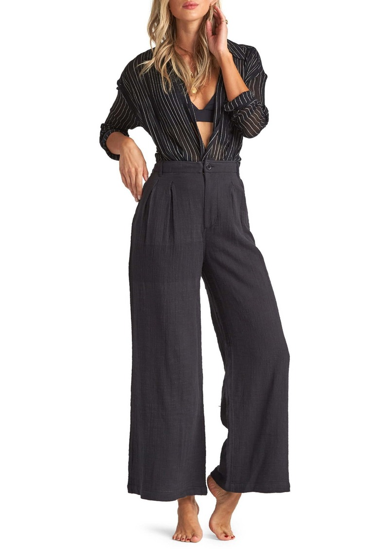 Billabong Big Trip High Waist Wide Leg Pants