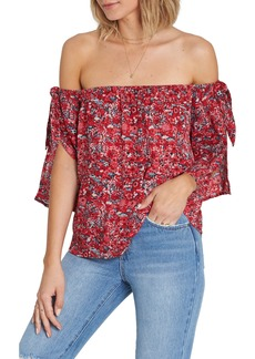 Billabong Blues Baby Off the Shoulder Top