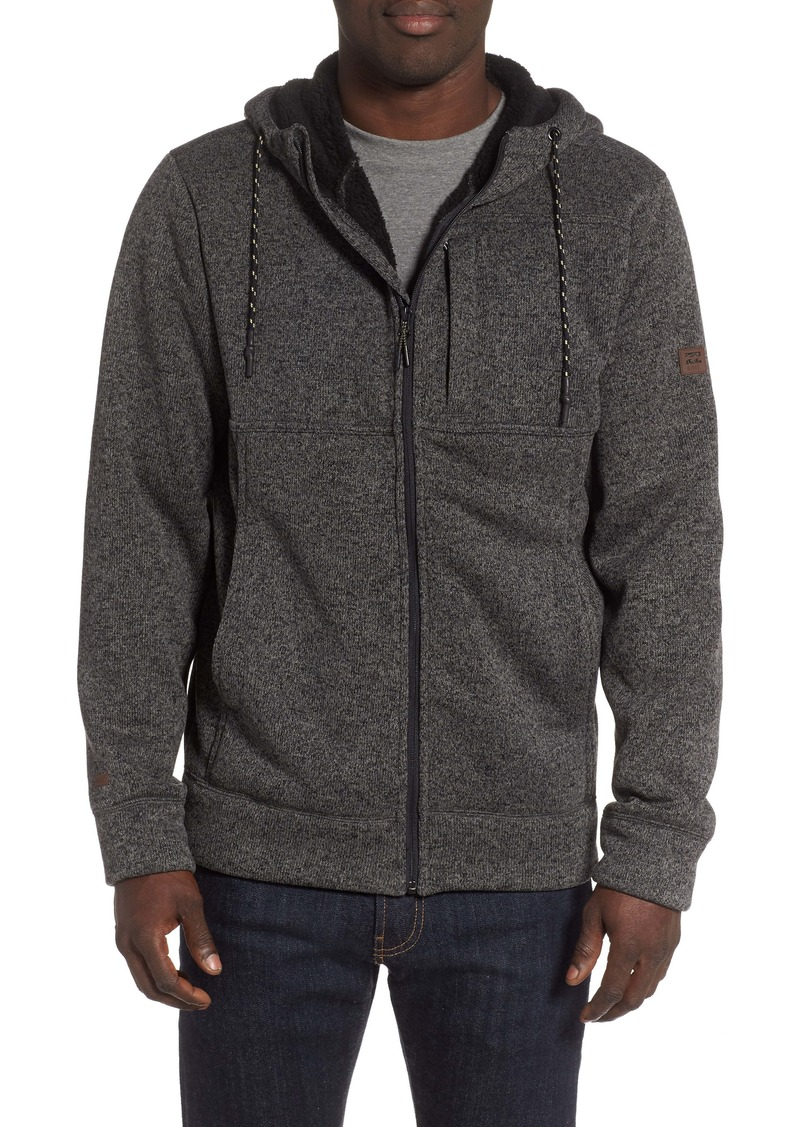 Billabong Boundary Fleece Lined Zip Hoodie