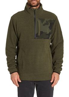 Billabong Boundary Mock Half Zip Pullover