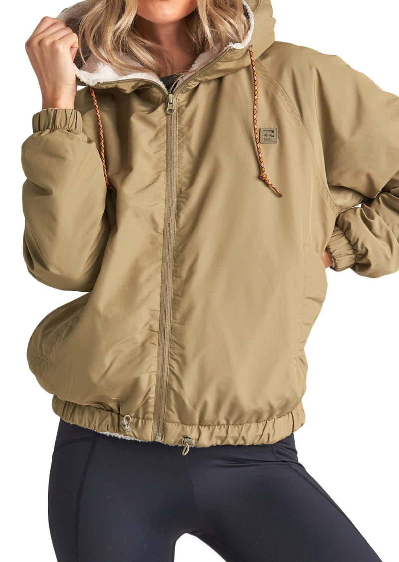 Billabong Boundary Reversible Hooded Zip Jacket