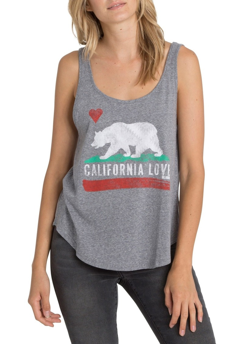 Billabong Cali Bear Graphic Tank
