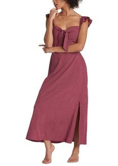 Billabong Cherry Lips Sweetheart A-Line Dress