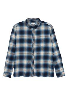 Billabong Coastline Plaid Flannel Shirt (Big Boys)