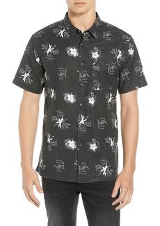 Billabong Collided Cotton Sport Shirt