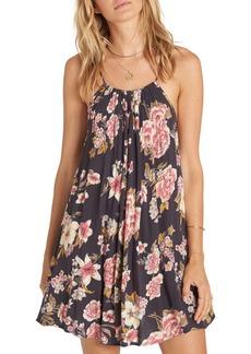 Billabong Come Along Floral Print Dress