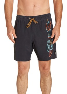 Billabong Crakukas Swim Volley Trunks