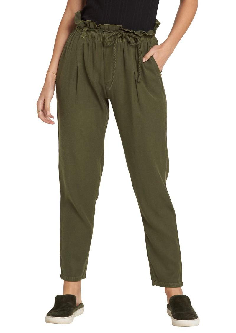 Billabong Desert Adventure Paperbag Waist Pants