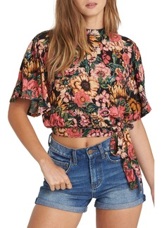 Billabong Desert Blossoms Crop Top