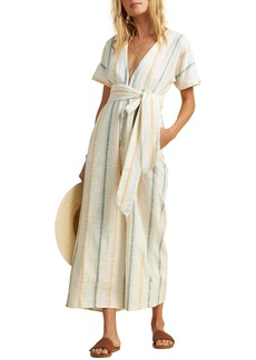 Billabong x The Salty Blonde Dream Weaver Stripe Wide Leg Jumpsuit