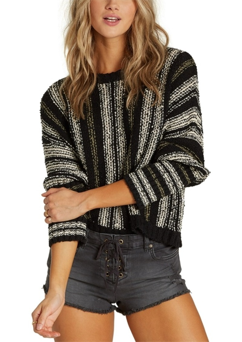 Billabong Easy Going Cotton Cropped Sweater