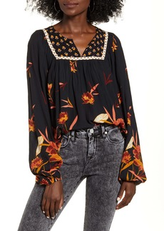 Billabong Ella Bella Floral Blouse