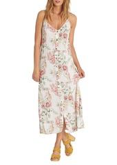 Billabong EZ Breezy Floral Print Midi Dress