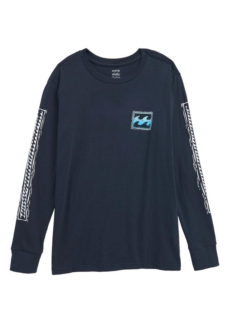 Billabong Fifty Wave Graphic Long Sleeve T-Shirt (Toddler Boys & Little Boys)