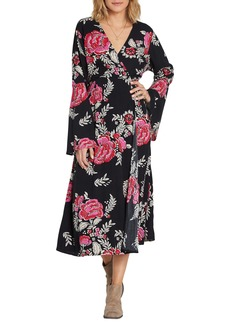 Billabong Floral Whispers Floral Midi Dress