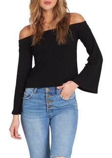 Billabong Fly Far Off The Shoulder Top