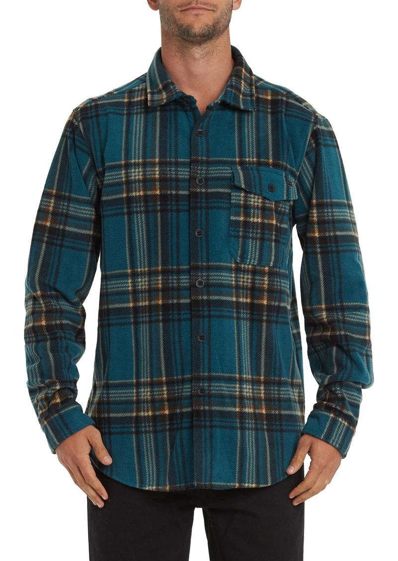 Billabong Furnace Flannel Button-Up Shirt
