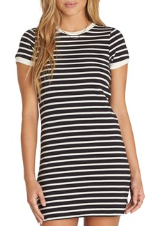 Billabong Go Around Stripe T-Shirt Dress