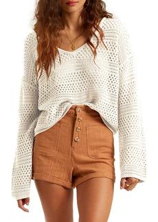 Billabong Good Times Open Knit Sweater