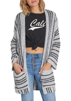 Billabong Good Times Stripe Cardigan
