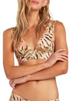 Billabong Hula Palm Plunge Bikini Top