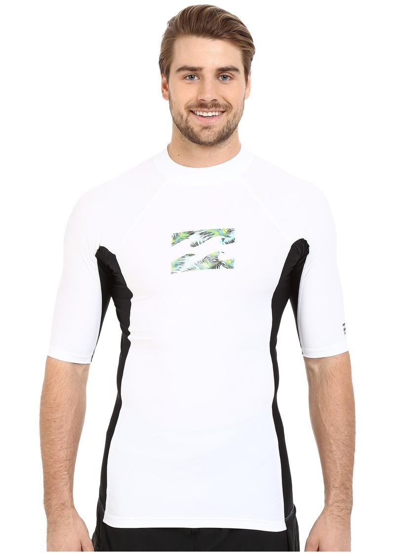 Billabong Iconic Short Sleeve Rashguard