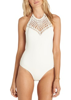 Billabong It's About Halter One-Piece Swimsuit