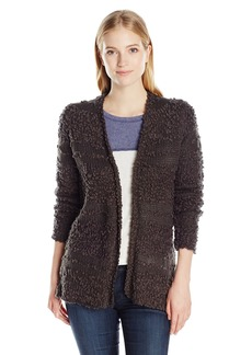 Billabong Junior's All Fur You Cozy Cardigan Sweater  S