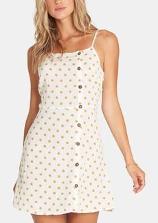 Billabong Juniors' Button-Front Mini Dress