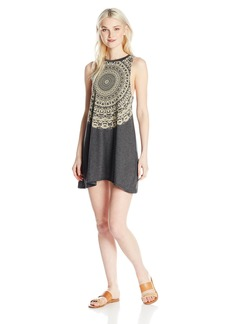 Billabong Junior's by and by Knit Muscle Tee Dress  M