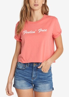 Billabong Juniors' Cotton Feelin' Free Crop Top