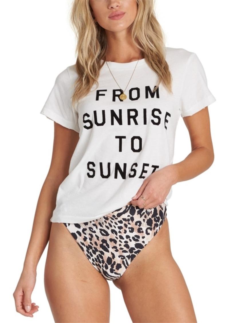 Billabong Juniors' Cotton From Sunrise To Sunset T-Shirt