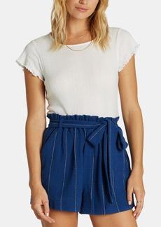 Billabong Juniors' Cotton Paperbag Shorts