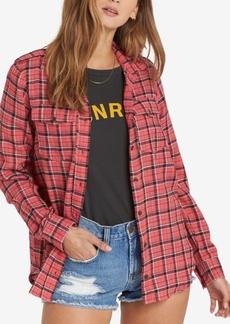 Billabong Juniors' Cotton Plaid Shirt
