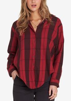 Billabong Juniors' Cozy Down Plaid Shirt