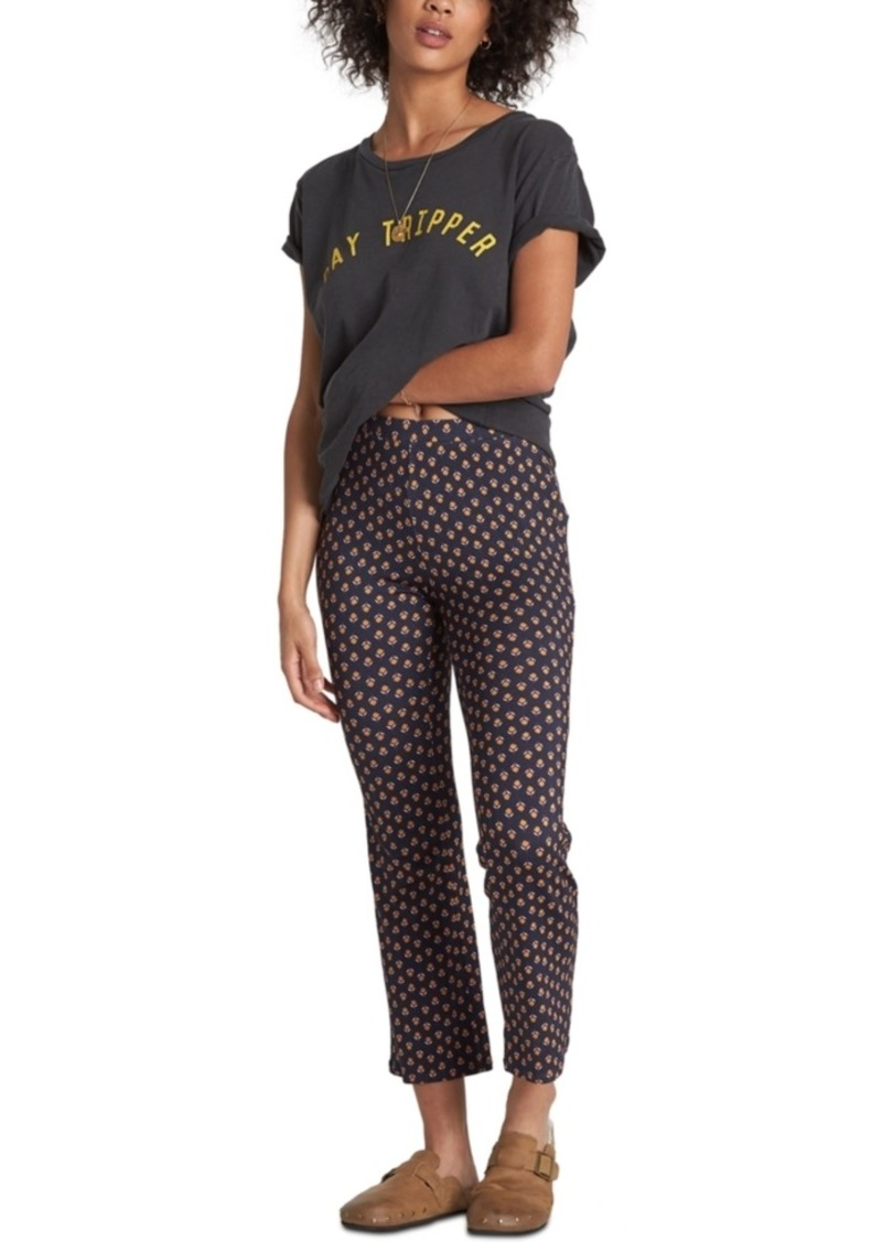 Billabong Juniors' Cropped Flare-Leg Pants
