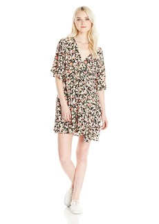Billabong Junior's Dolly Flutter Sleeve Woven Dress