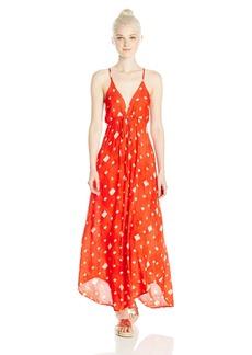 Billabong Junior's Dont Mind Woven Maxi Dress  M